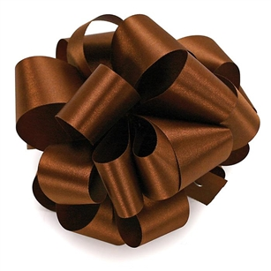 Ribbon #9 Satin Chocolate Berwick 100Yd Pk 1