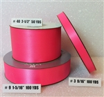 Ribbon #9 Satin Hot Pink Berwick 100Yd Pk 1
