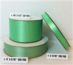 Ribbon #9 Satin Mint Berwick 100Yd Pk 1