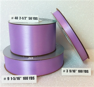 Ribbon #9 Satin French Lavender Berwick 100Y