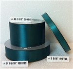 Ribbon #9 Satin Teal Berwick 100Yd Pk 1