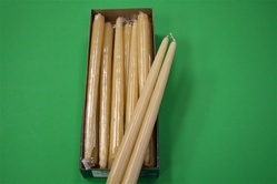 "12"" Taper Candle-Colonial Ivory (Pack of 12)"