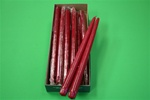 "12"" Taper Candle-Cranberry (Pack of 12)"