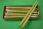 "12"" Taper Candle-Fresh Green (Pack of 12)"