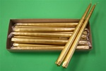 "12"" Taper Candle-Gold (Pack of 12)"