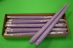 "12"" Taper Candle-Pale Lavender (Pack of 12)"