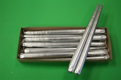 "12"" Taper Candle-Silver (Pack of 12)"