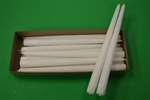 "12"" Taper Candle-White (Pack of 12)"