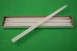 "16"" Taper Candle-White (Pack of 12)"