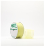 Ribbon #3 Sheer Lime 3 Chiffon Lime 25Yd