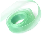 Ribbon #3 Sheer Mint 3 Chiffon Mint 25Yd