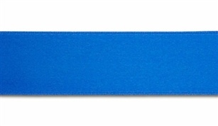 Ribbon #9 True Blue Double Face Satin 50Yd