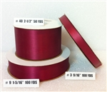 Ribbon #3 Satin Cinnabar 100 Yd Pk 1