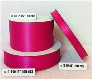 Ribbon #3 Satin Cyclamen 100 Yd Pk 1