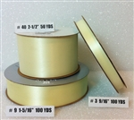Ribbon #3 Satin Eggshell 100 Yd Pk 1