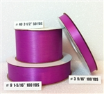 Ribbon #3 Satin Fuchsia 100 Yd Pk 1