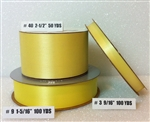 Ribbon #3 Satin Maize 100 Yd Pk 1