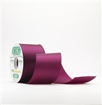 Ribbon #3 Satin Midnight Plum 100Y Pk 1