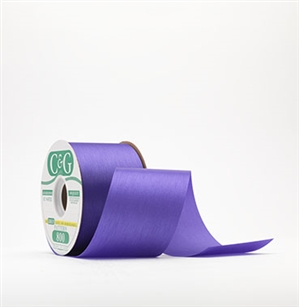 Ribbon #3 Satin New Violet 100 Yd Pk 1