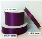 Ribbon #3 Satin Plum 100 Yd Pk 1