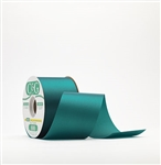 Ribbon #3 Satin Teal 100 Yd Pk 1