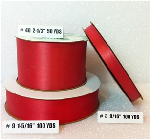 Ribbon #3 Satin Valeria 100 Yd Pk 1