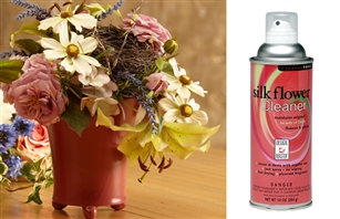 Design Master Silk Flower Cleaner #280 - Removes Dust from Silk Flowers & Plants Restores Beauty