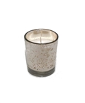 Silver Mercury Votive Candle Holder With Candle (Case of 12)