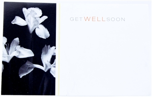 """Get Well Soon"" Sympathy Enclosure Cards (pack of 50)"