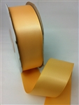 Ribbon #9 Buttercup Double Face Satin 50 Yd