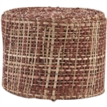 "Ribbon Burlap Hot Chocolate 2-1/2"" X 10 Yard"