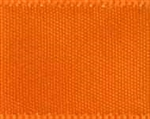 "Ribbon 668 1/8"" Double Face Satin Tangerine 50Yd"