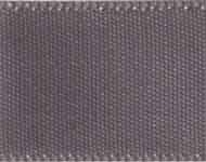 Ribbon #9 Metal Grey Double Face Satin 017 50Y
