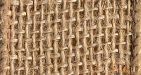 Ribbon #9 Burlap Natural 10Yd Morex