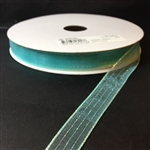Ribbon #3 Sheer Aqua Harmony 042 50Yd