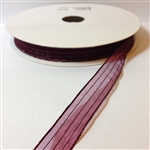Ribbon #3 Sheer Burgundy Harmony 18 50 Yd