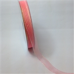 Ribbon #3 Sheer Coral Harmony 409 50 Yd