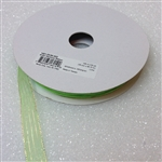 Ribbon #3 Sheer Lime Green Harmony 502 50 Yd