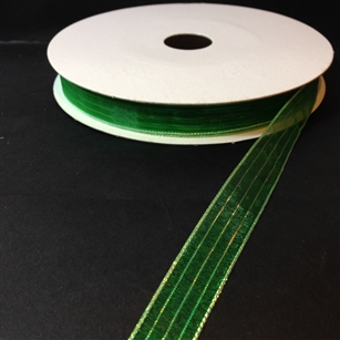 Ribbon #3 Sheer Green Harmony 607 50 Yd