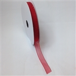 Ribbon #3 Sheer Red Harmony  609 50 Yd