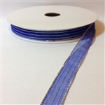 Ribbon #3 Sheer Blue Silver Harmony 714 50 Yd