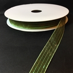Ribbon #3 Sheer Moss Green Harmony 892 50 Yd