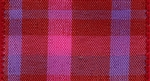 Ribbon #40 Wired Scarlet Pink Chic Plaid 018 50Yd