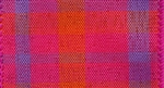 Ribbon #40 Wired Magenta Tangerine Plaid 606 50Yd