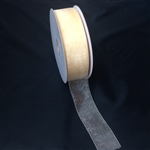 Ribbon #9  Ivory Organdy Sheer  004 100 Yd