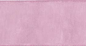 Ribbon #9 Mauve Organdy Sheer Mauve 021 100 Yd