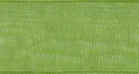 Ribbon #9 Apple Green Organdy Sheer 137 100 Yd