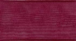 Ribbon #9 Burgundy Organdy Sheer 18 100 Yd