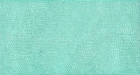 Ribbon #9 Tiffany Organdy Sheer Blue 319 100 Yd