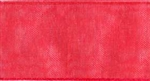 Ribbon #9 Hot Coral Organdy Sheer 409 100 Yd